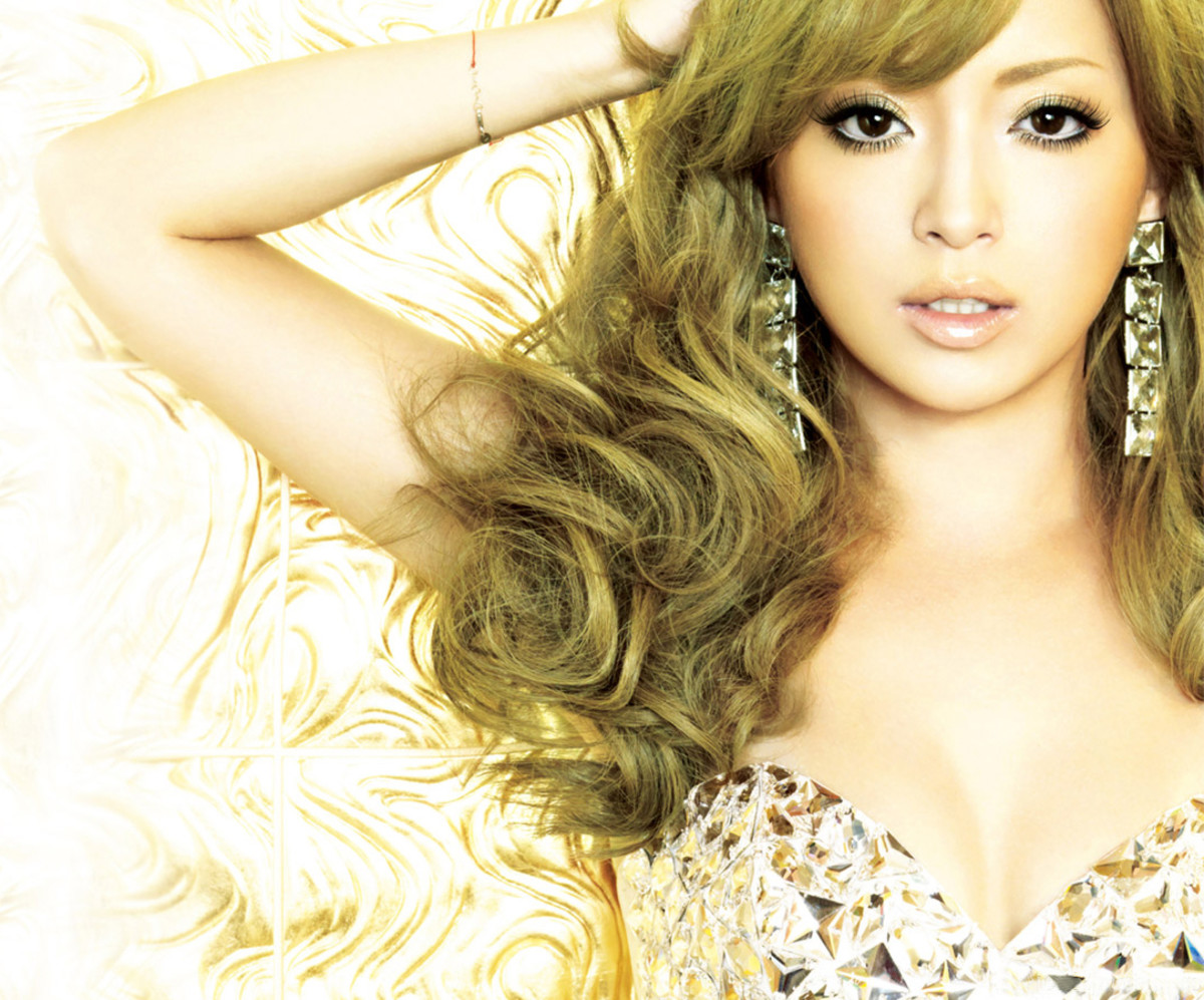 Ayumi Hamasaki is one of the most popular JPop idols. She is famous for saying she feels it is necessary for her to be marketed as a product rather than as a person.
