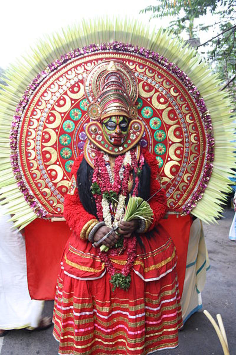 Althara Devi Theyyam, Kerala