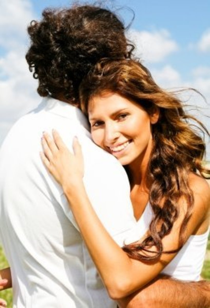 An older guy's sensibility can attract a woman and  make her feel like letting him take charge of their relationship.