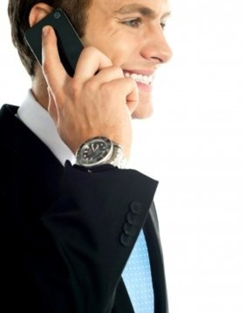 The aura of success can make a man look very attractive.