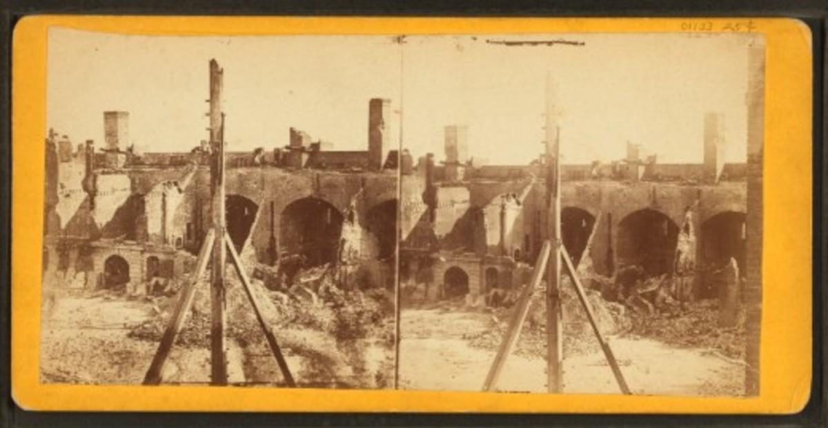 Post-bombardment damage 3