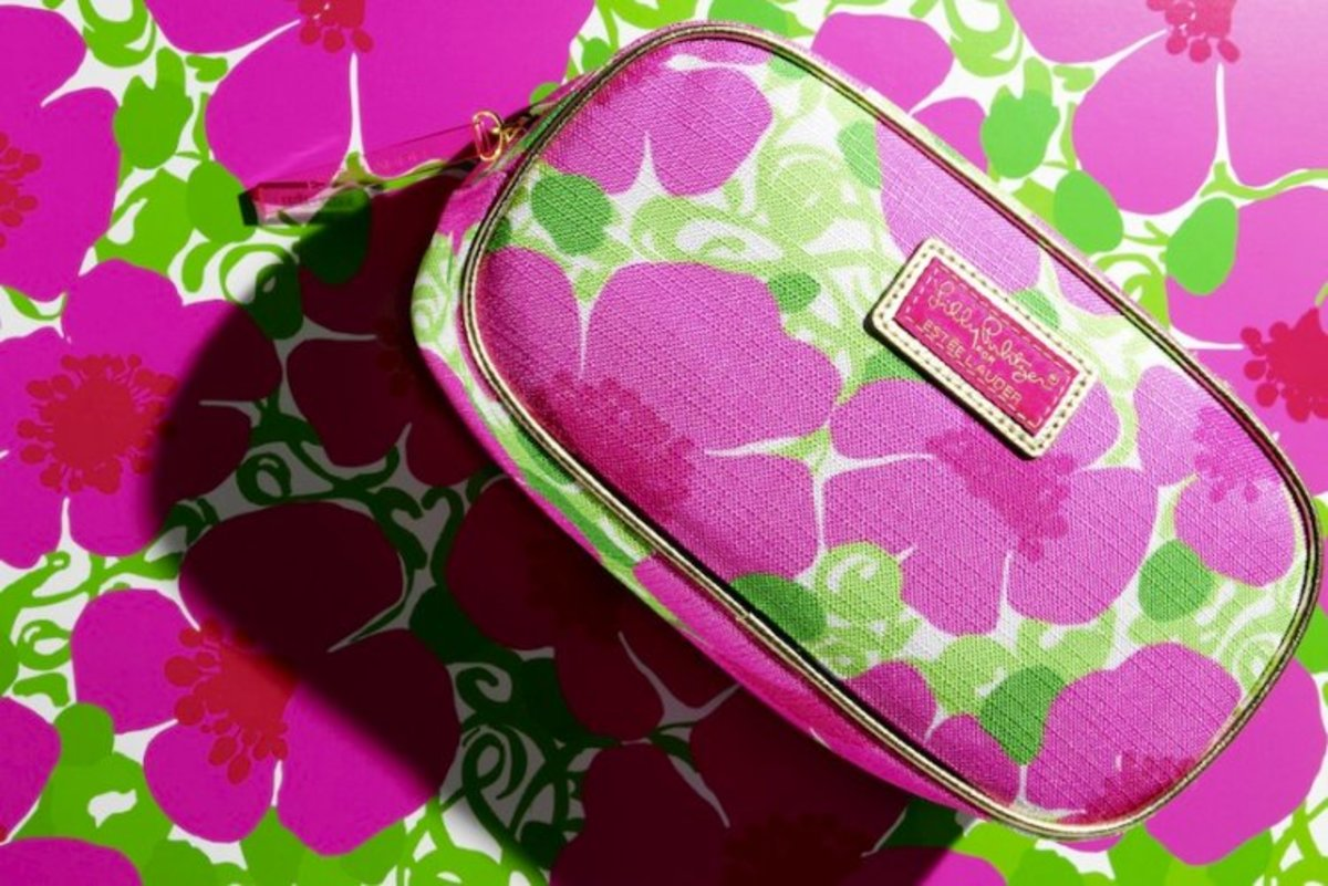 Estee Lauder Pulitzer Cosmetic Bag