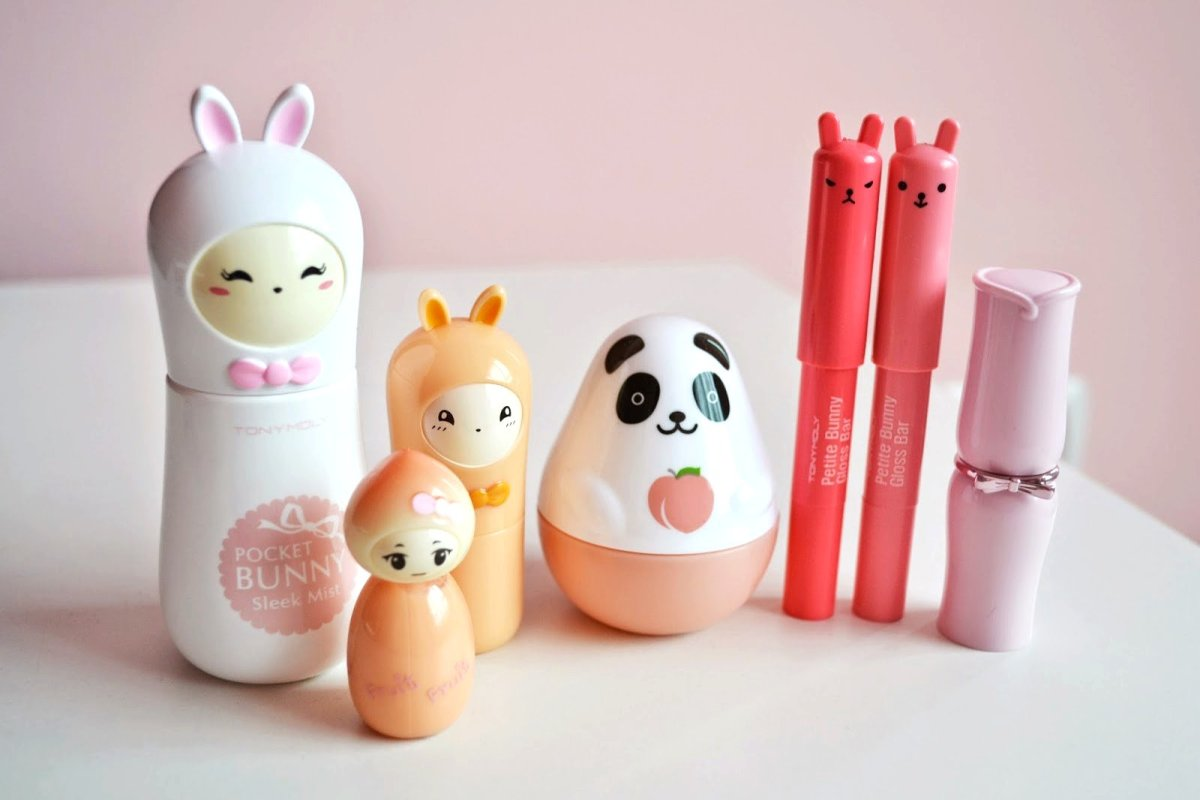 Tony Moly & Etude House Cosmetics – Cutesy packaging and high quality.