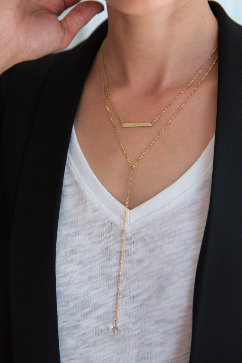 Lariat necklaces add the perfect delicate touch to any outfit or occasion.