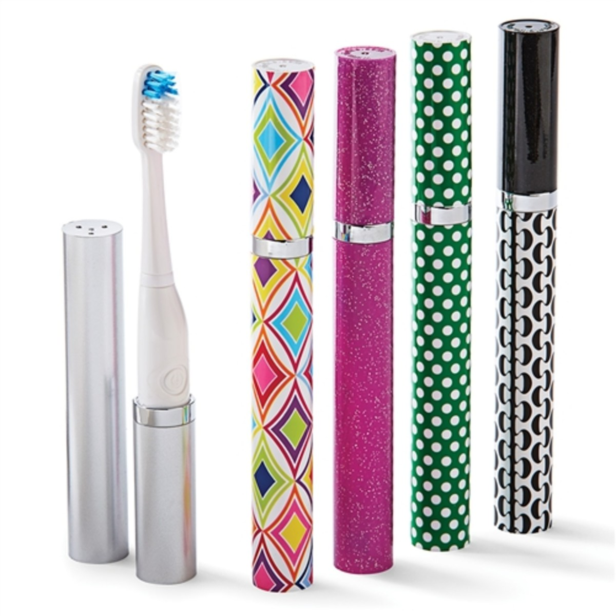 Bye-bye, boring toothbrushes! Hello, brightly-colored sonic brushes!