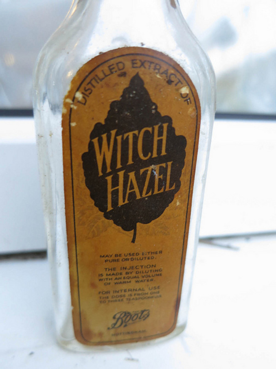 Witch hazel homemade deodorant keeps you fresh and dry all day long.