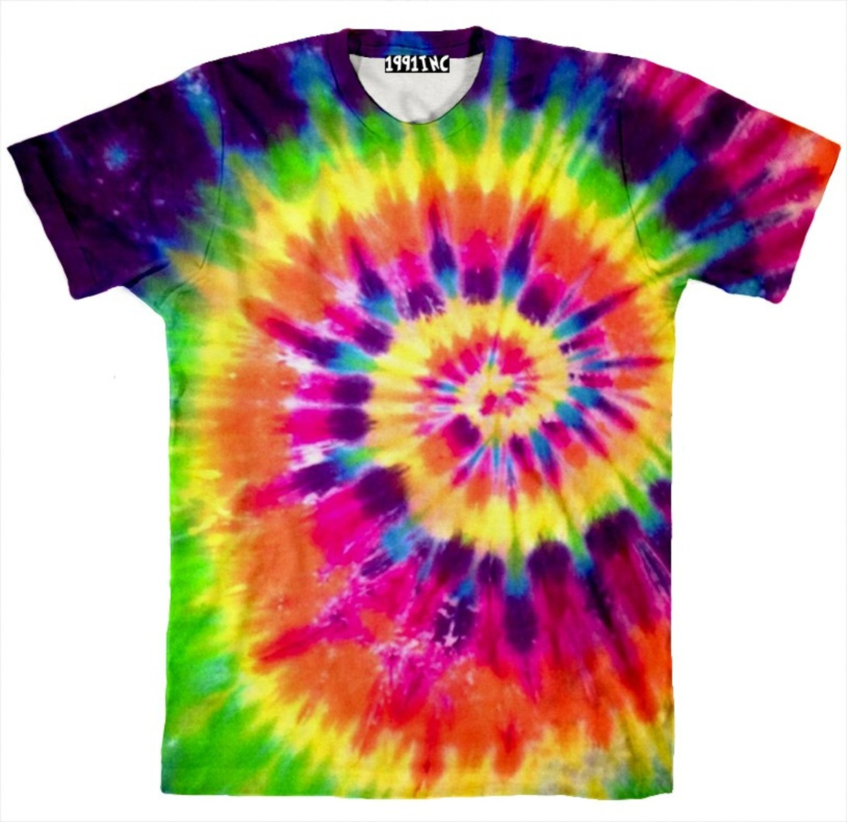 This shirt from 1991 Inc is a perfect example of how pretty tie dye can be!