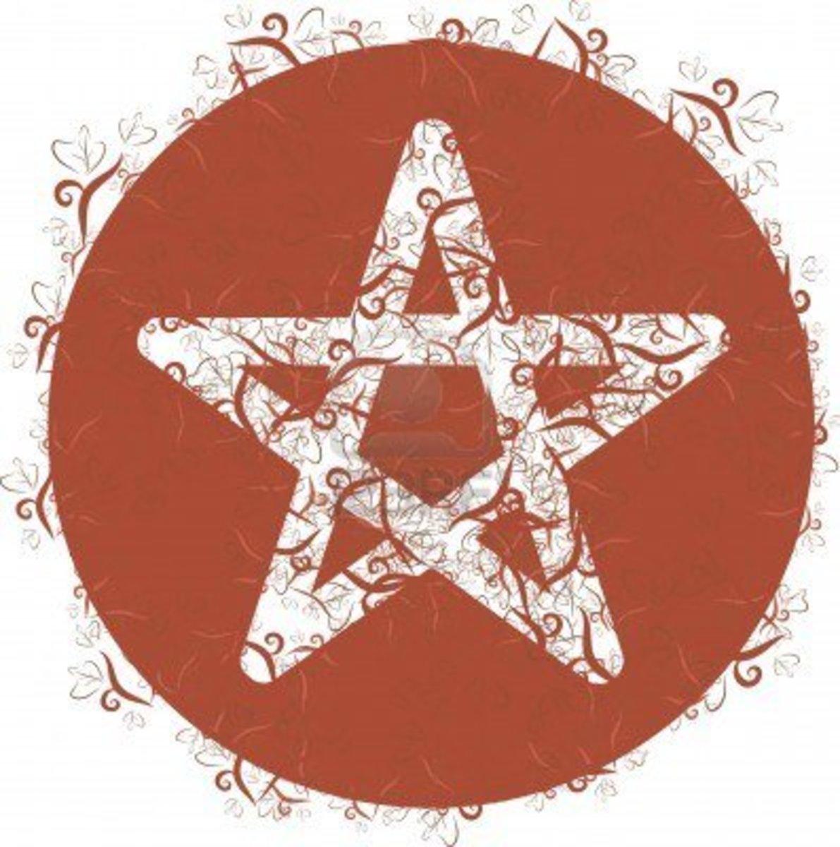 A Pagan Symbol.