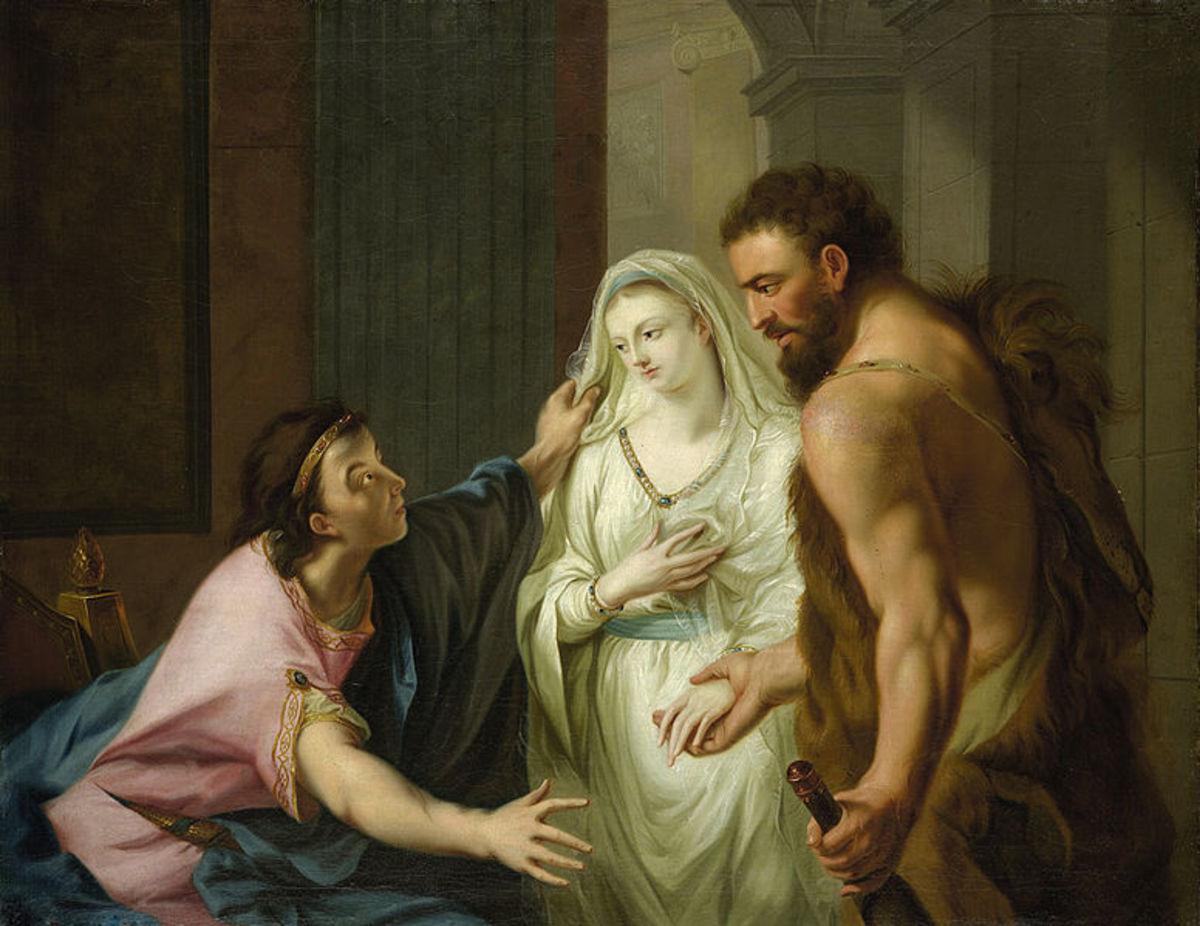 Alcestis Returned to Admetus, by J H Tishbein, c1780