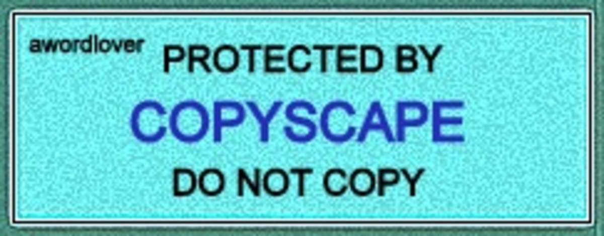 This means don't copy this article. It also means if you DO copy, I am going to file a DMCA notice of copyright infringement against you. You have been warned.