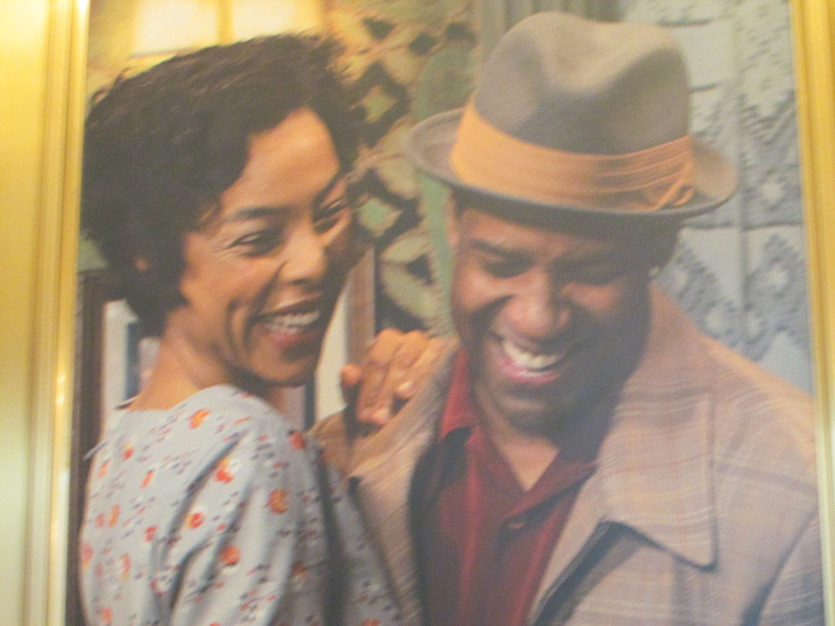 "Denzel Washington and Sophie Okonedo, appear in Broadway's new version of the award winning play, ""A Raisin in the Sun."