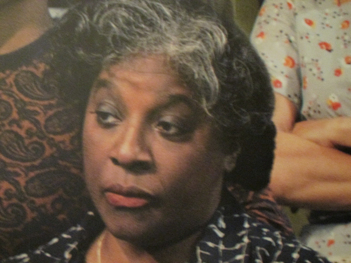 LaTanya Richardson Jackson, wife of the talented actor Samuel Jackson, appears as Mrs. Younger, mother of Walter Younger, played by Denzel Washington. She was nominated for a Tony award based on her performance in this role.