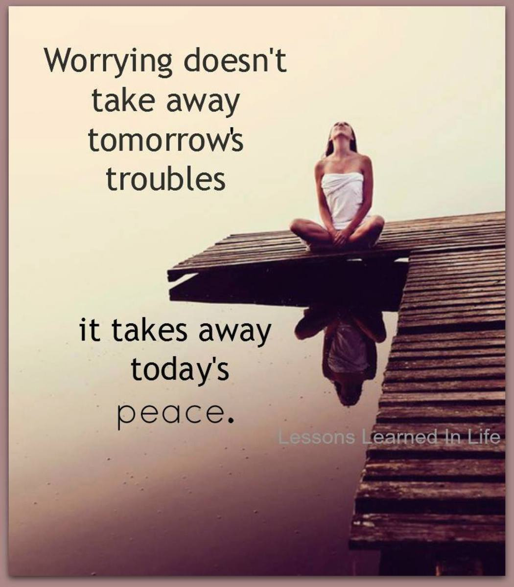Get Rid of Stress and Worry