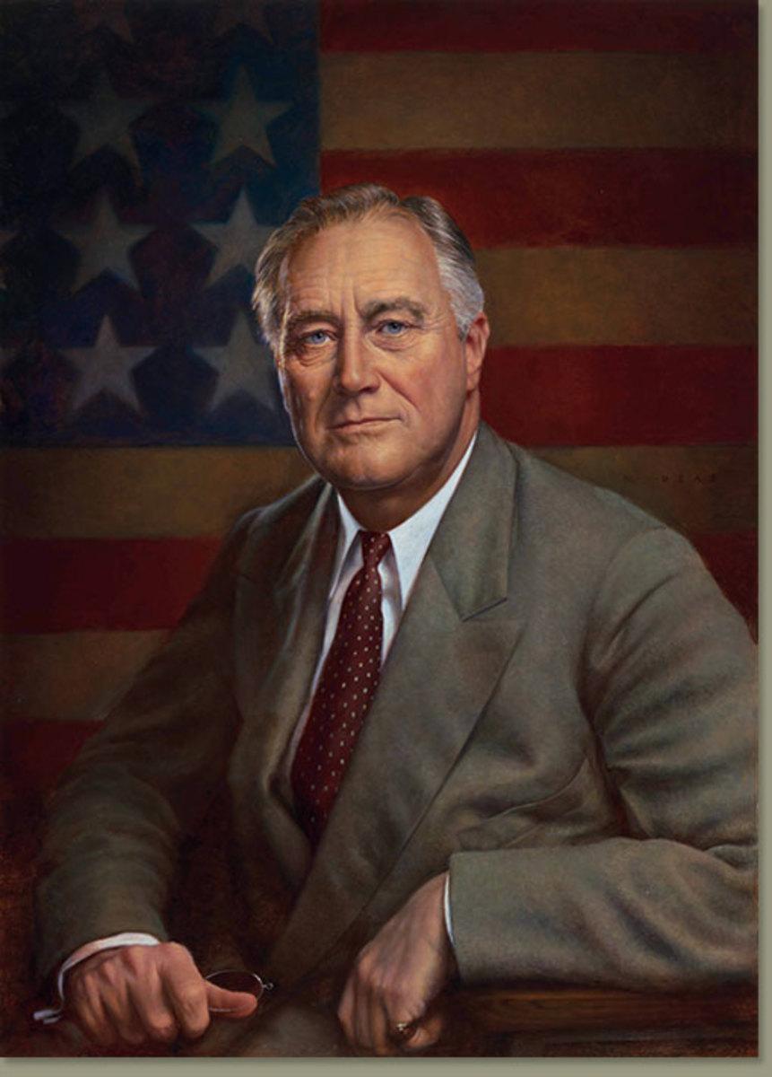 Franklin D Roosevelt ( 1882- 1945)
