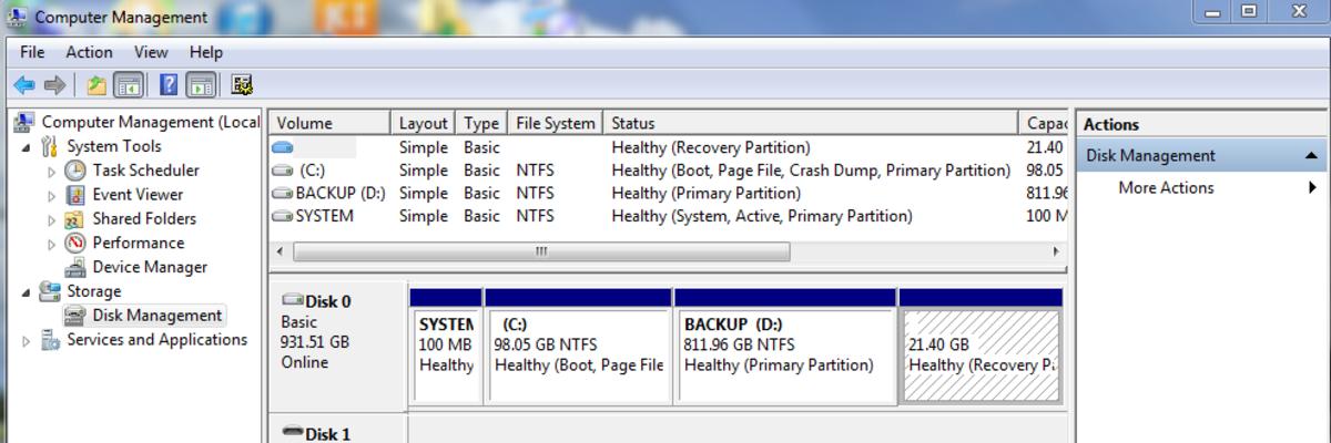Computer  Management tool