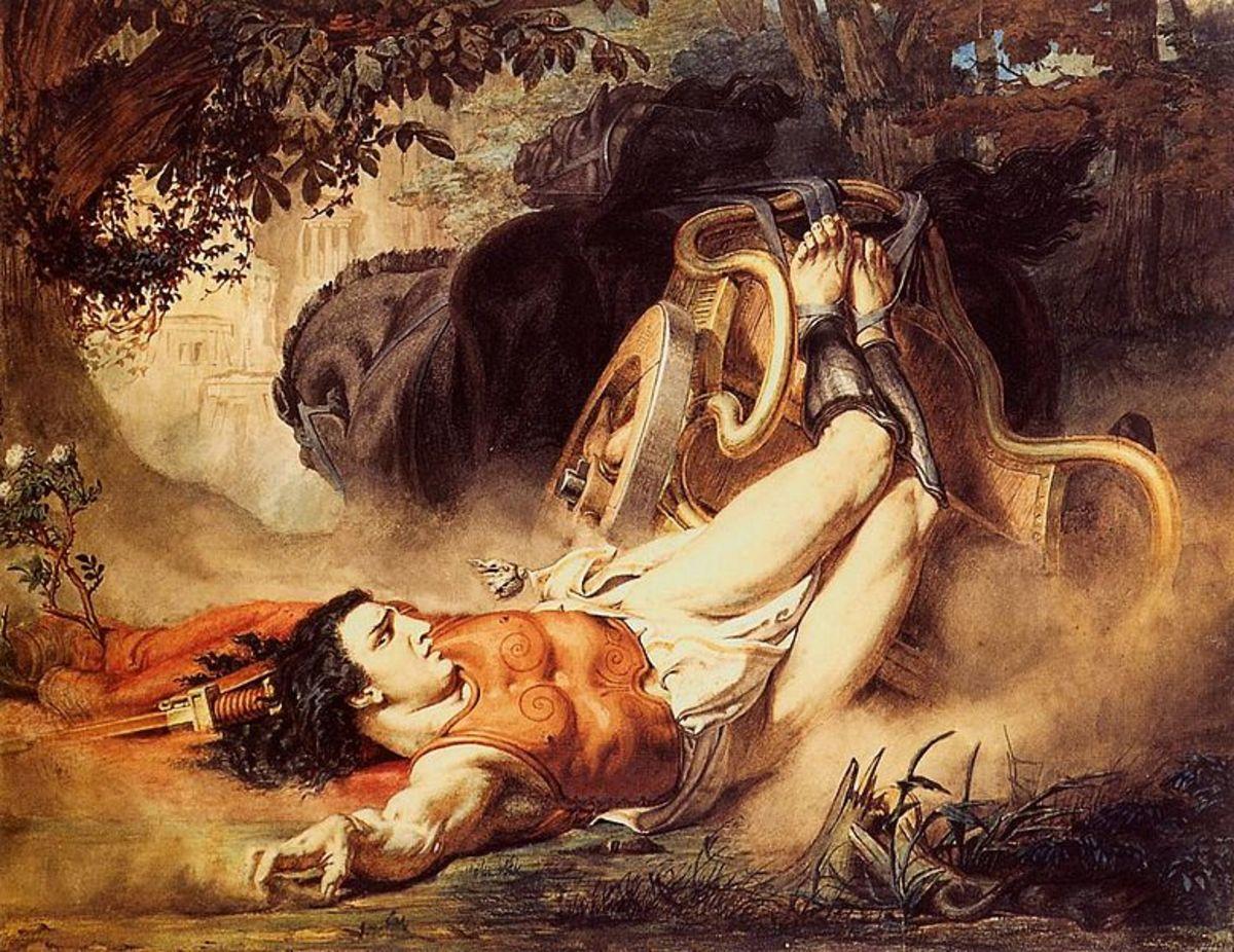Hippolytus by Sir Laurence Alma Tadema