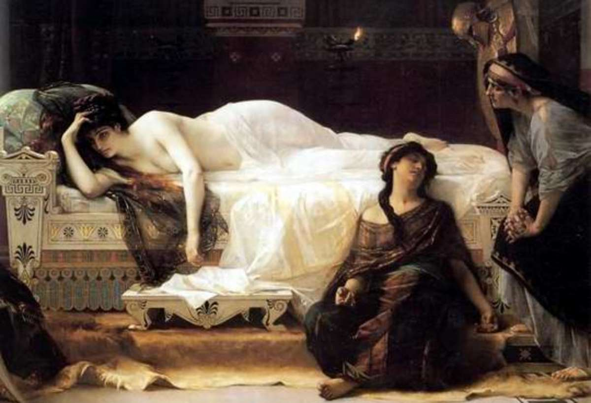 Phedre, by Alexandre Cabanel, 1880