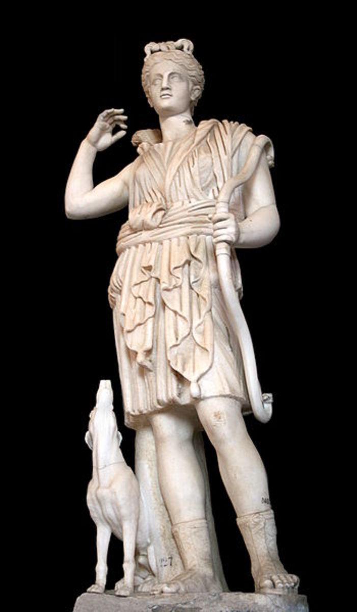 Artemis, Virgin Goddess of the Woodlands.