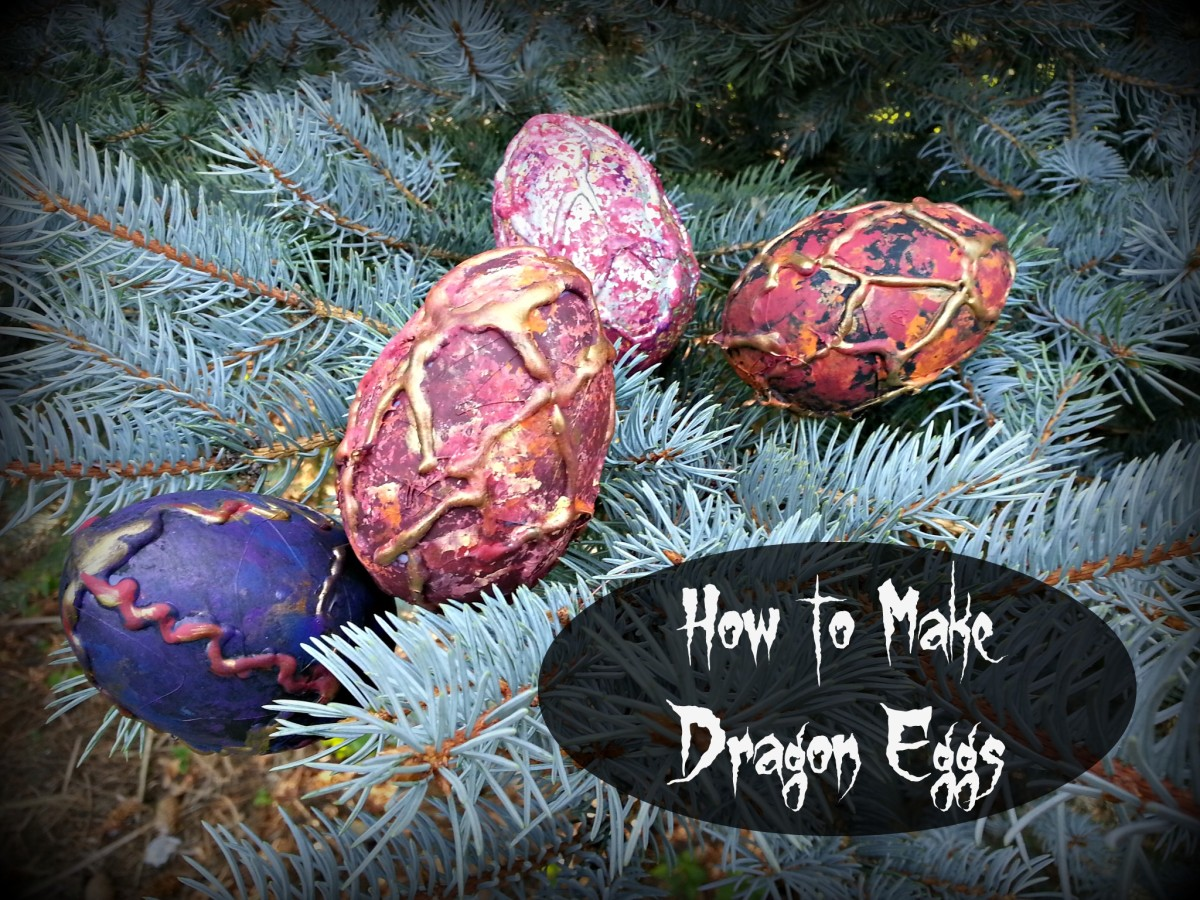 Have fun making your own dragon eggs with your kids!