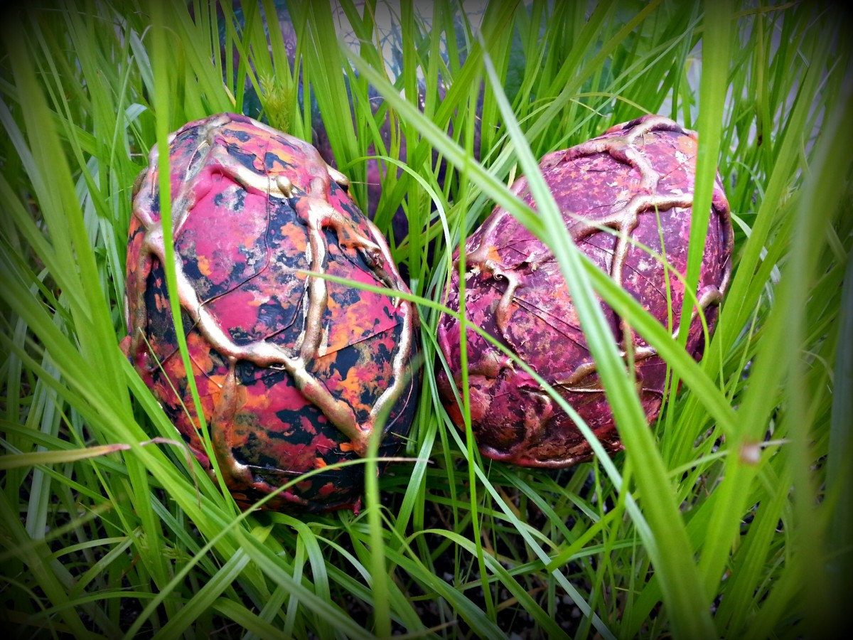 How to make dragon eggs.