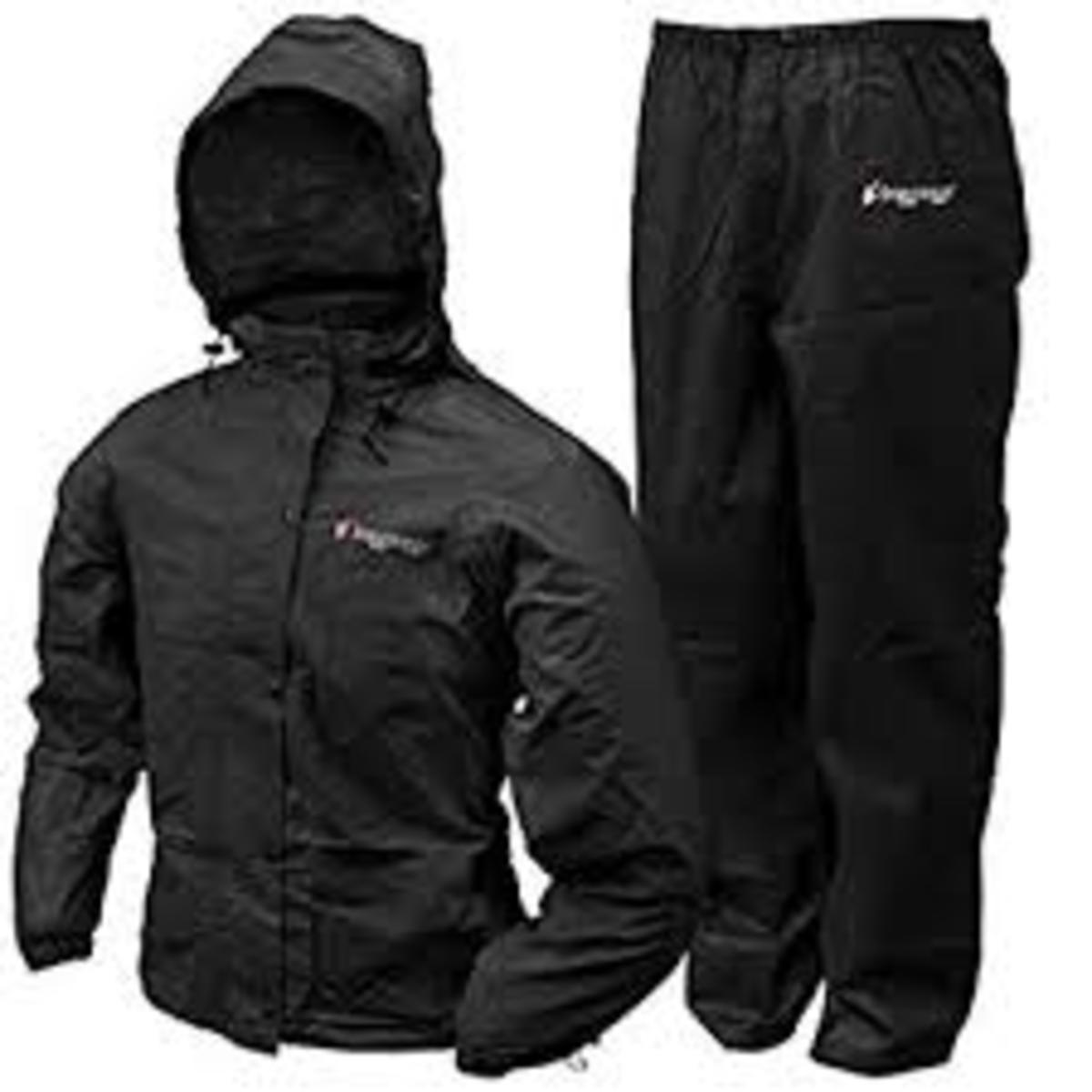 Frogg Toggs All Sport Rain Suit - Black