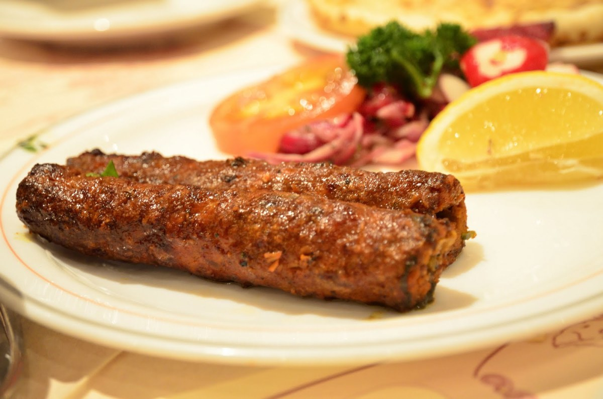 This is what the seekh kebab/Sheek kebab should look like. You can make them shorter and smaller if you like