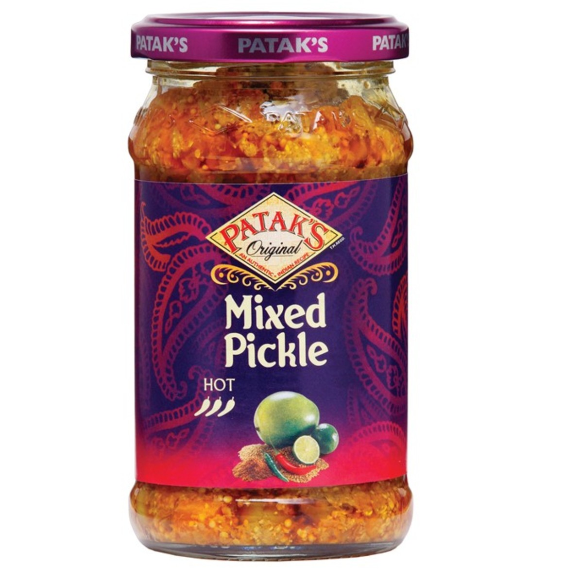 This is the secret ingredient - Patak's Mixed Pickle