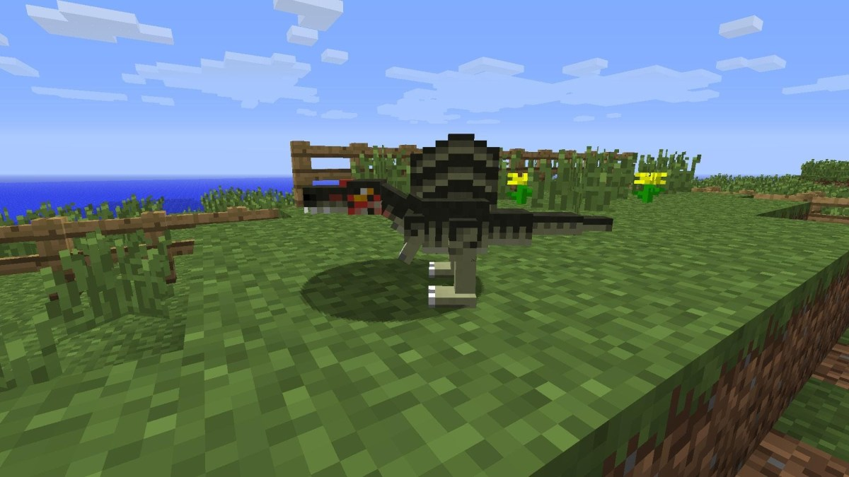 minecraft-dinausors