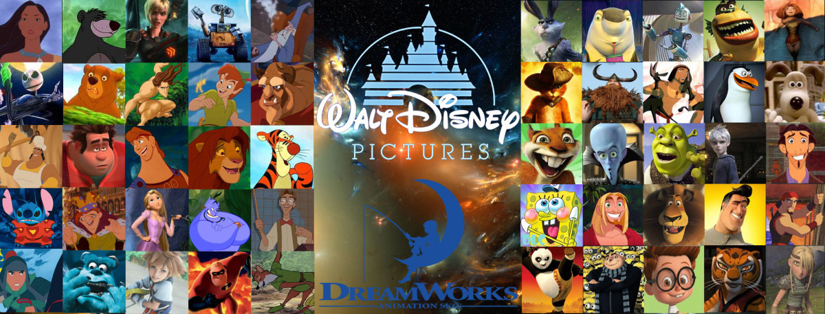 Disney vs. Pixar vs. DreamWorks