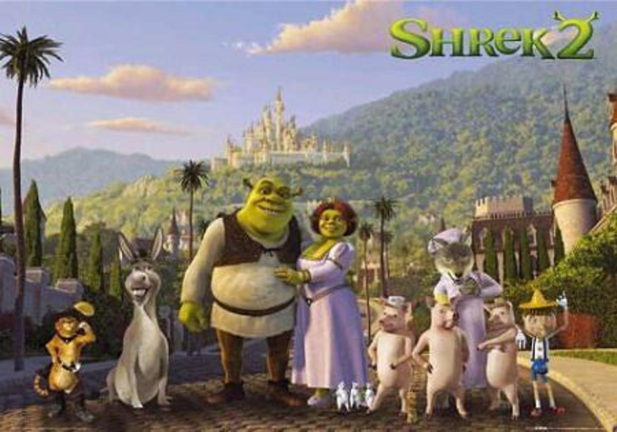 Shrek 2 (2004) - DreamWorks Animation's biggest ''Box Office'' success
