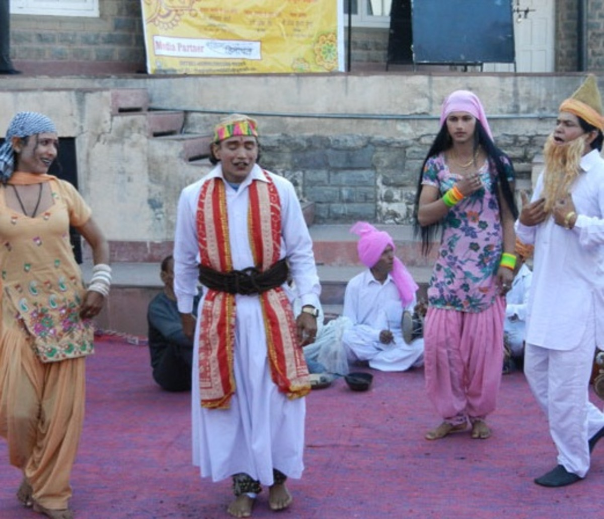 The folk-theater form of Shimla, Sirmaur and Solan districts has crude humor and its beauty lies in its rustic vulgarity, not obscenity.