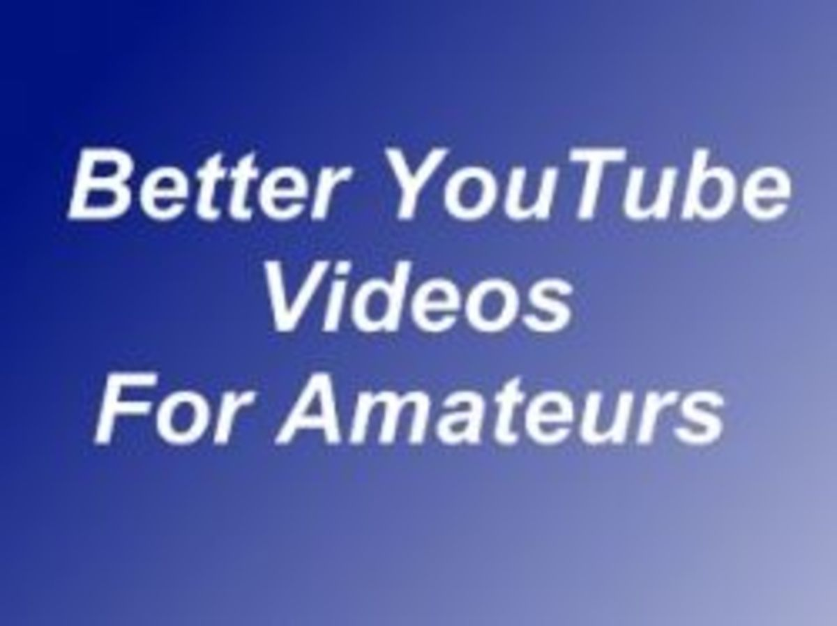 Better YouTube Videos For Amateurs