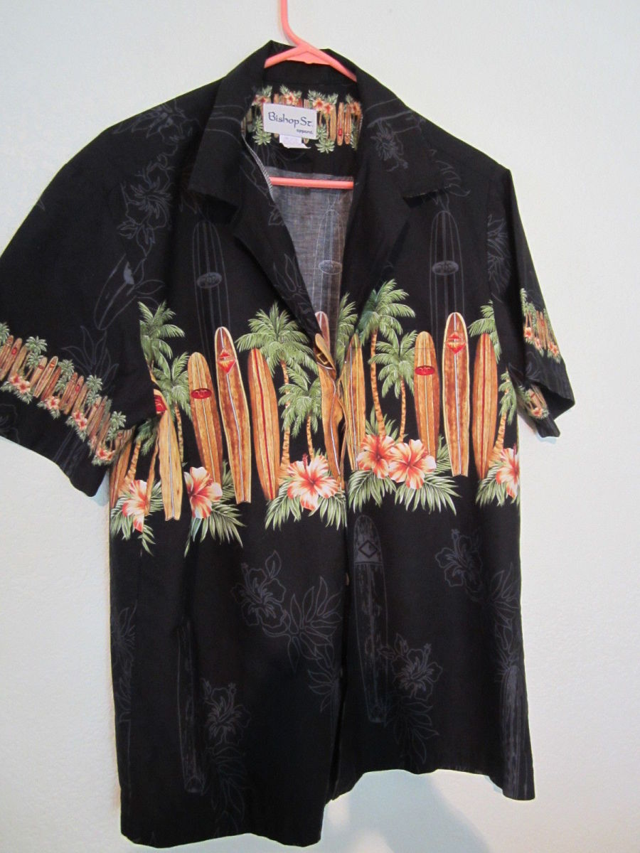 Only the best well made Hawaiian shirts are sold at BISHOP STREET of Honolulu in Hawaii.