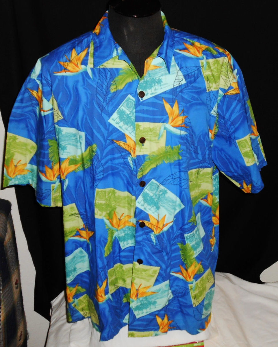 You don't have to spend a fortune to have real made in Hawaii Hawaiian shirts such as Hilo Hattie, RJC, ROYAL CREATIONS, Jade Fashions, BISHOP STREET, KY'S, WINNIES, and Paradise Style to name a few.