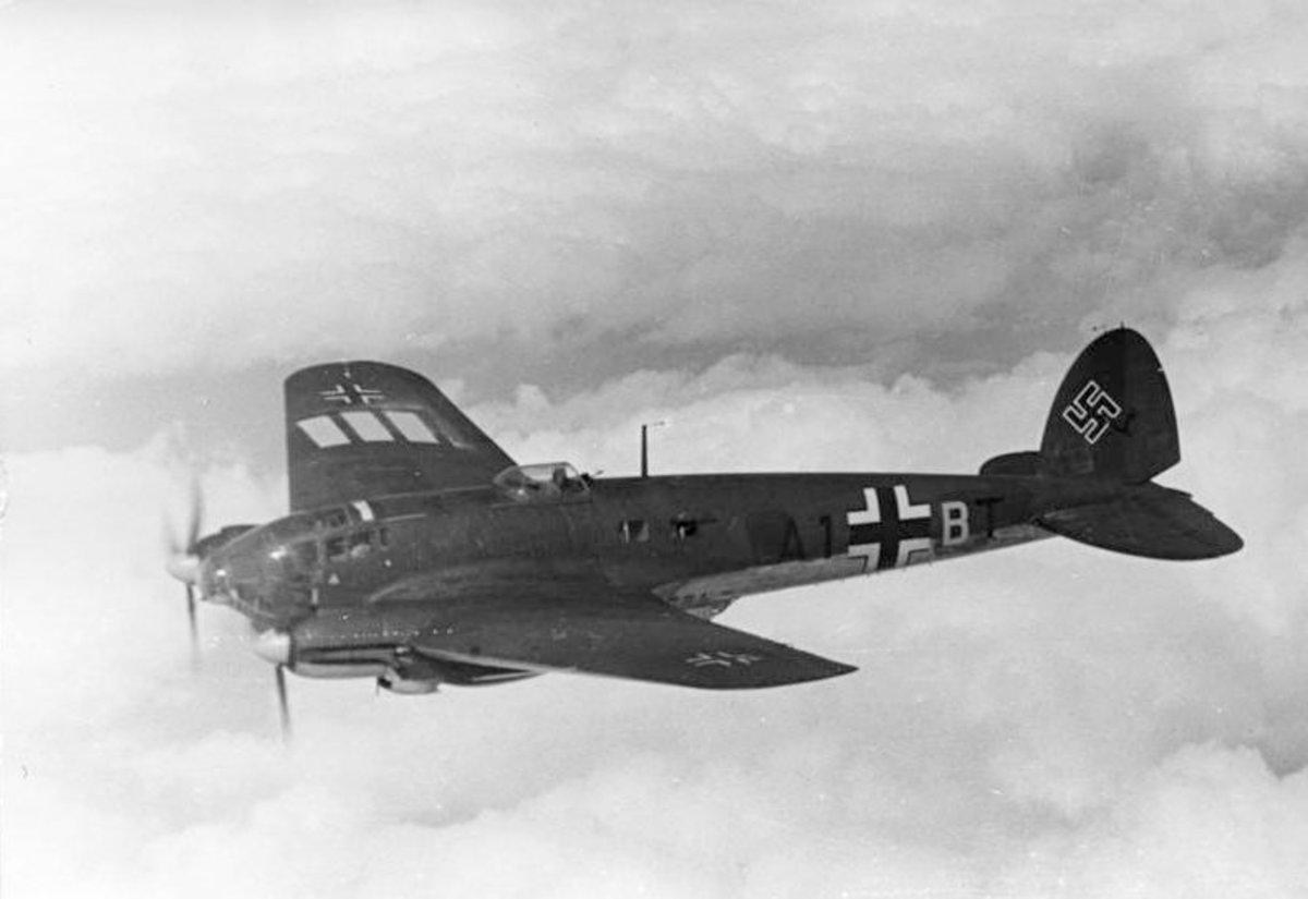 An He-111 of KG-53