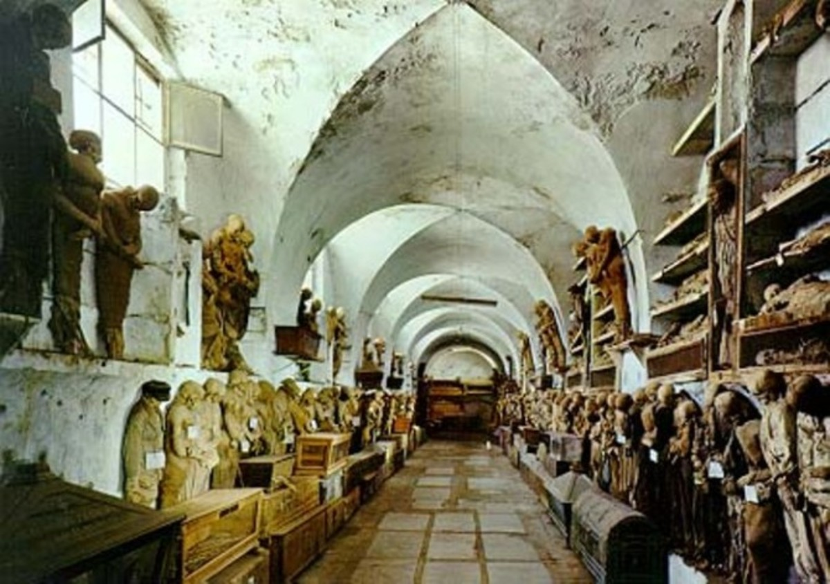 Capuchin Catacombs in Palermo, Italy
