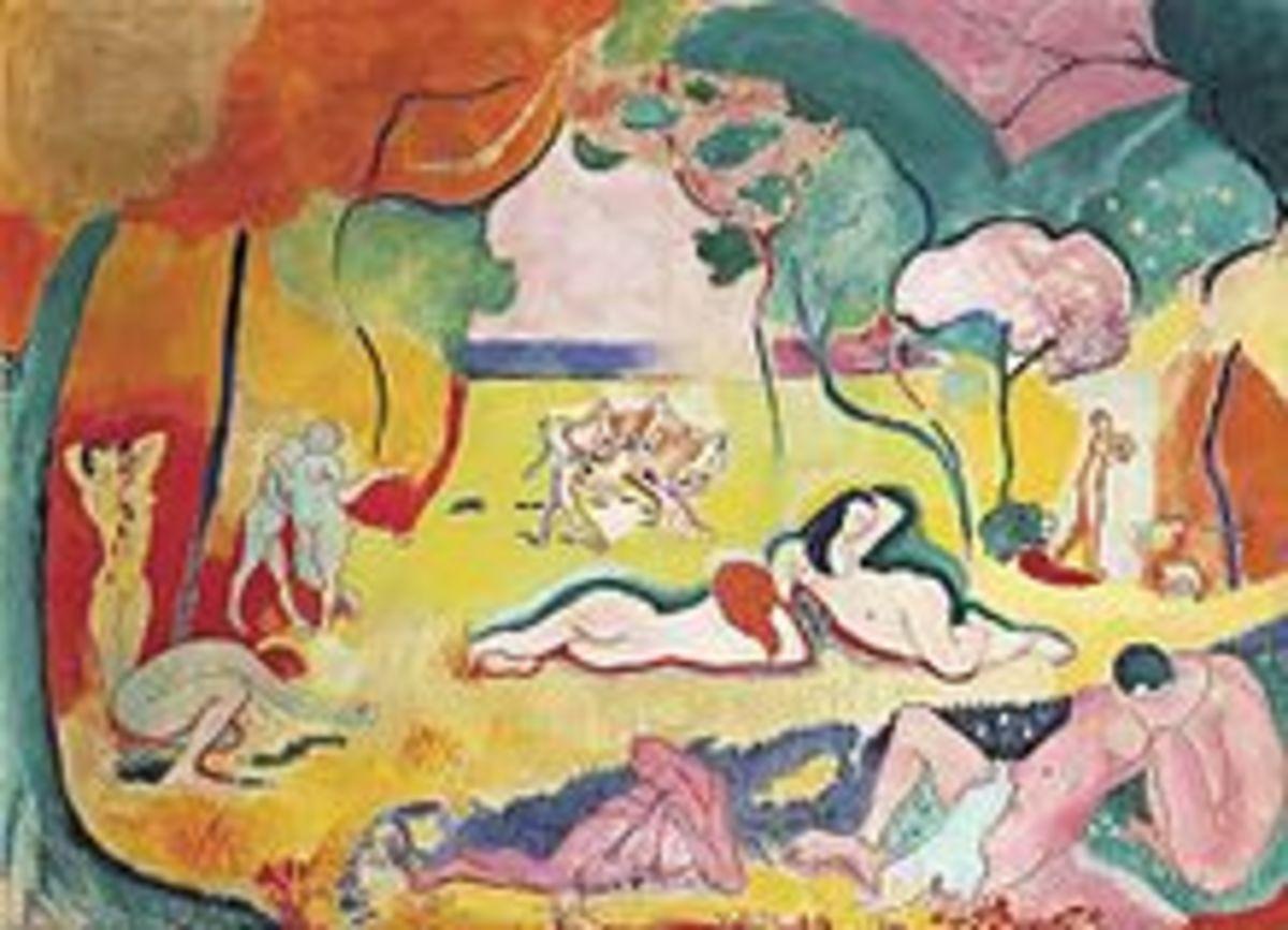 Hendri Matisse. Le Bonheur de vivre. 1905-6