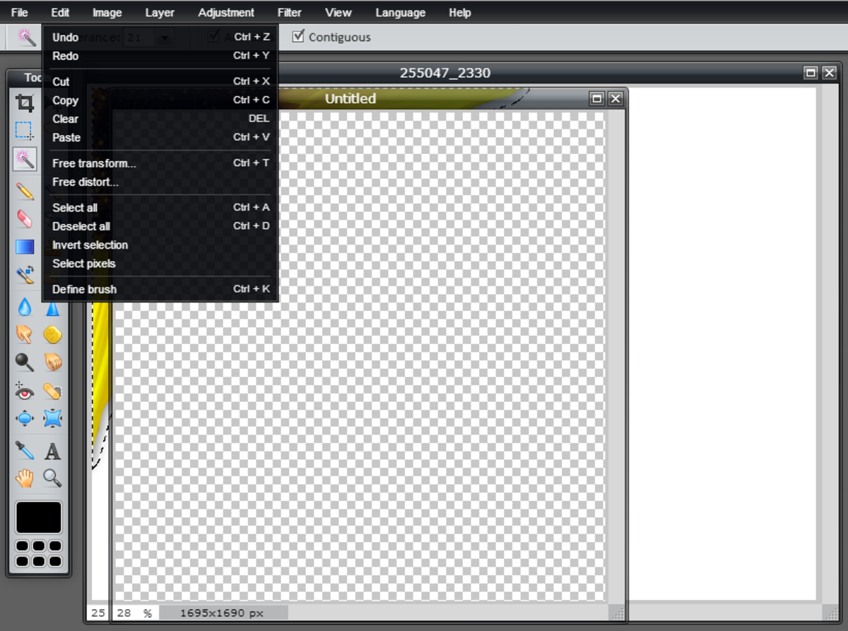 create-a-transparent-image-background-using-pixlr
