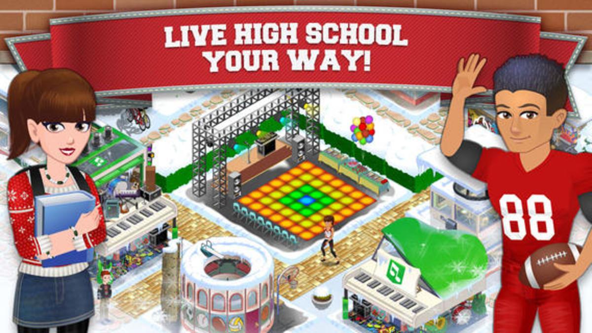 10 Games Like High School Story