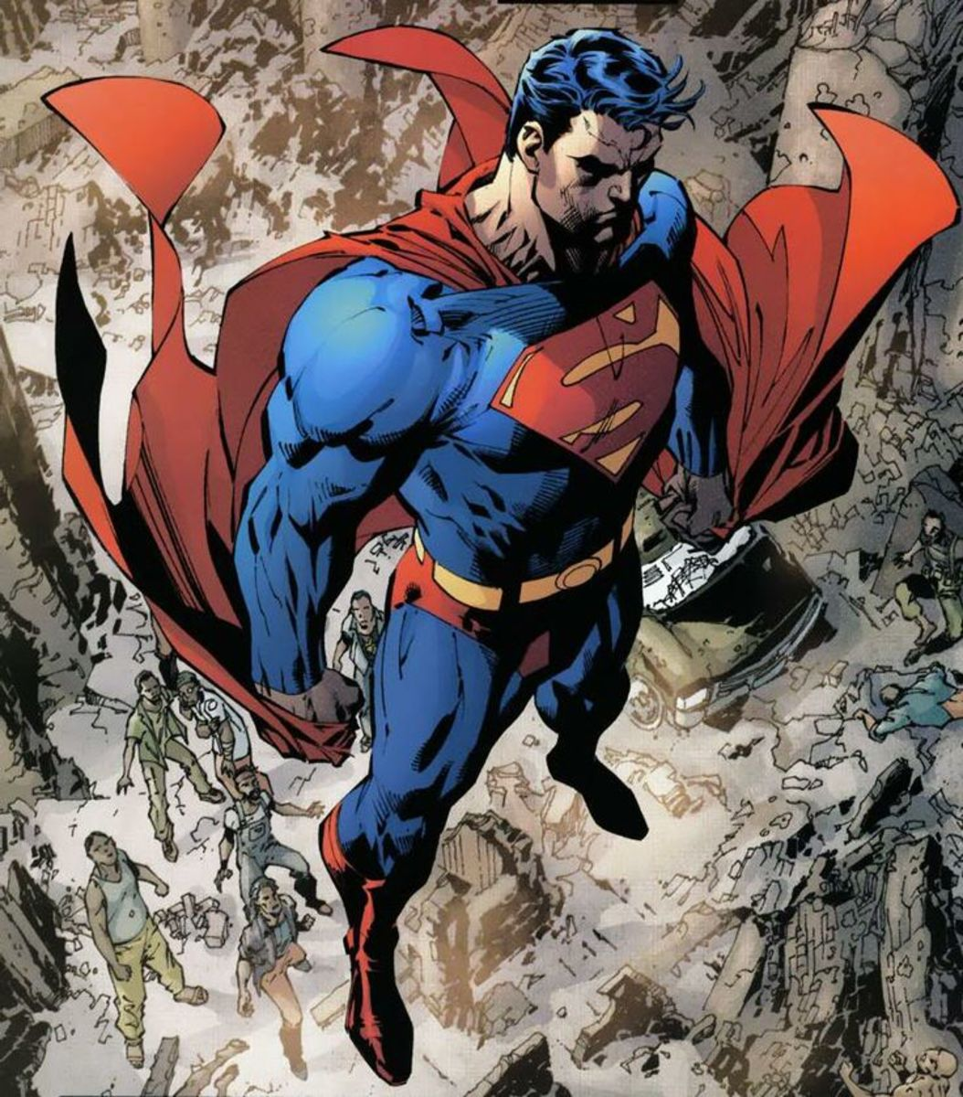 The Man of Tomorrow by Jim Lee