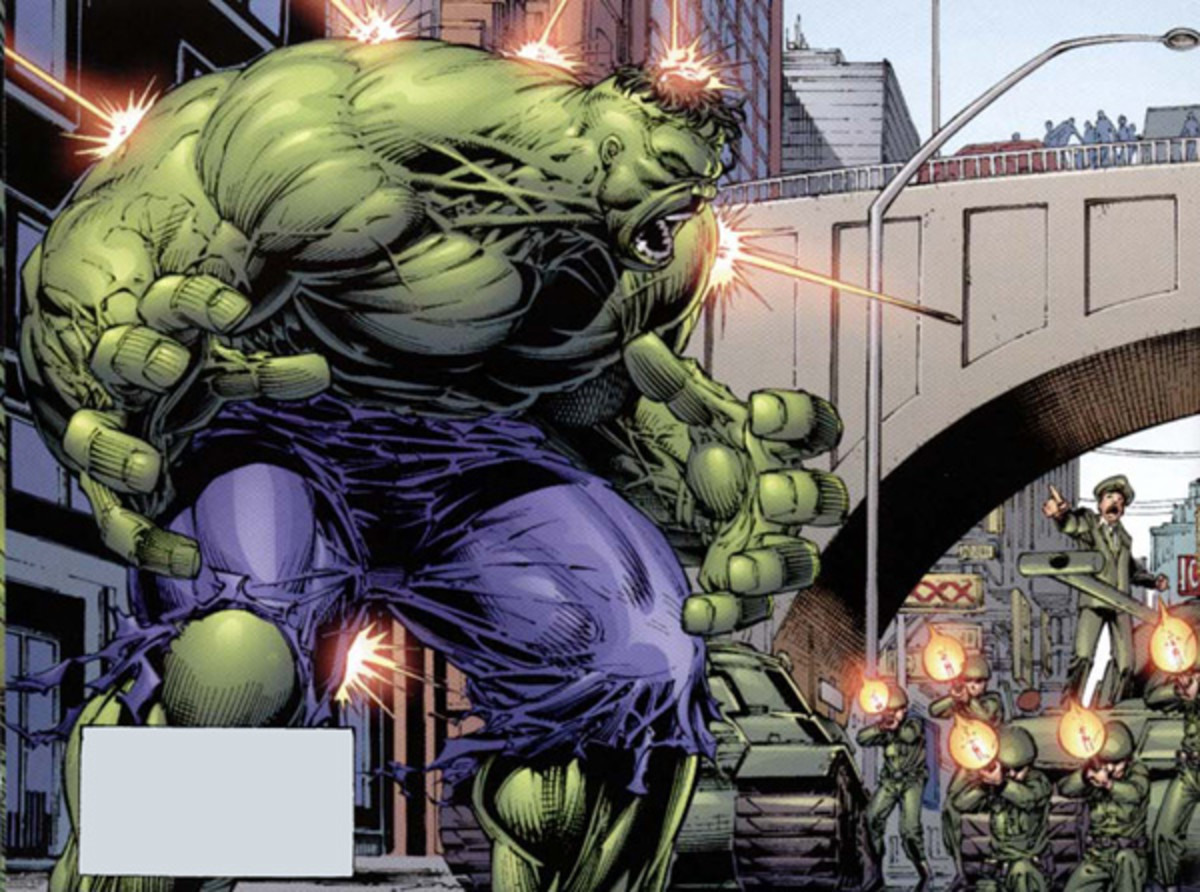 Hulk Art by Dale Keown