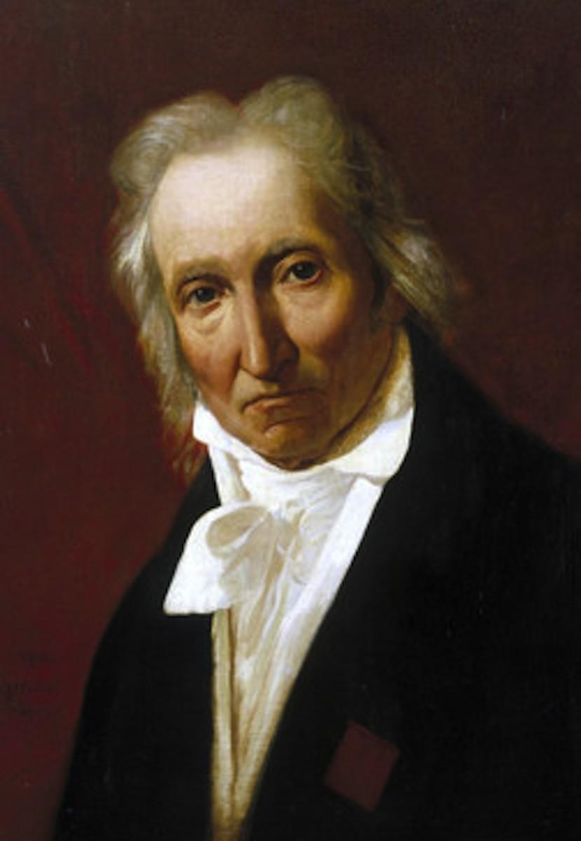 Detail from a Portrait of Jacquard by Francois Lepagnez (1828-1870) after an original work by Claude Bonnefond. Jacquard (1752-1834). Public Domain.