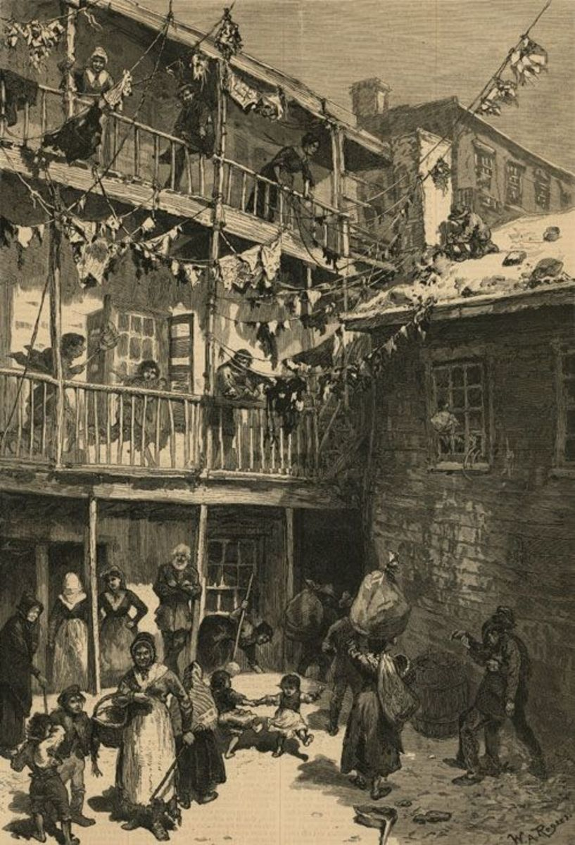1880s New York tenement