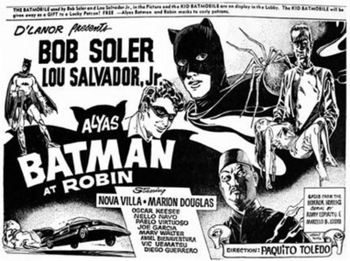 All that is left of Alyas Batman et Robin is ad from an old newspaper. Even the poster remains elusive. Perhaps some day a copy of the film will resurface in the hands of a collector.
