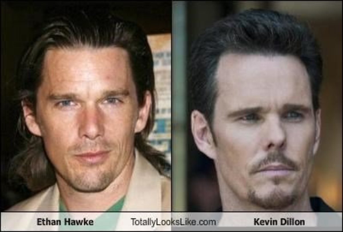Ethan Hawke and Kevin Dillon.