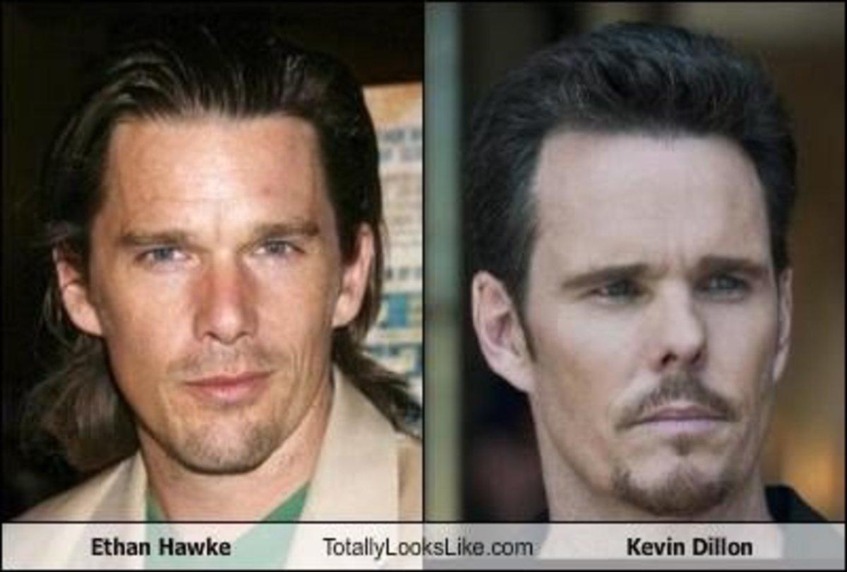 Actors that look alike