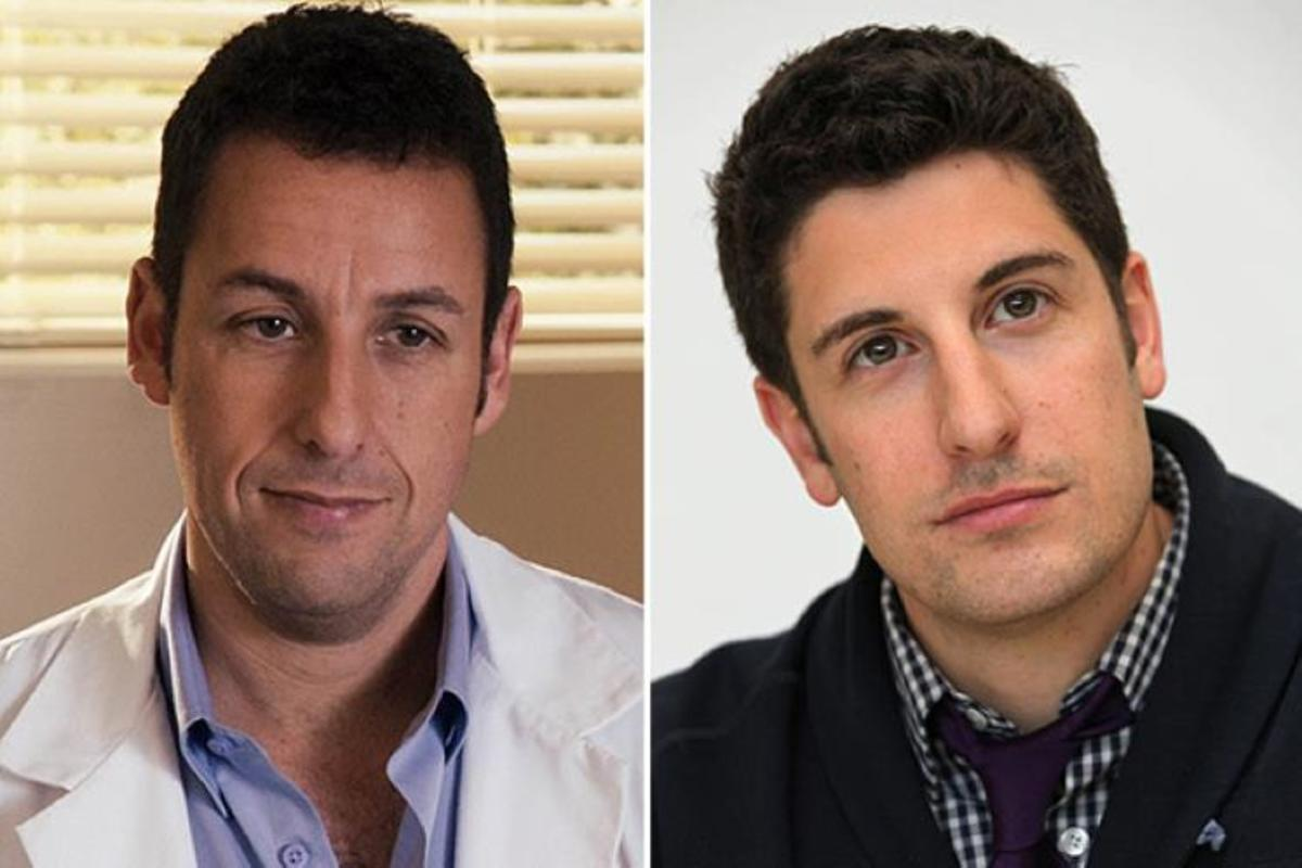 Adam Sandler and Jason Biggs