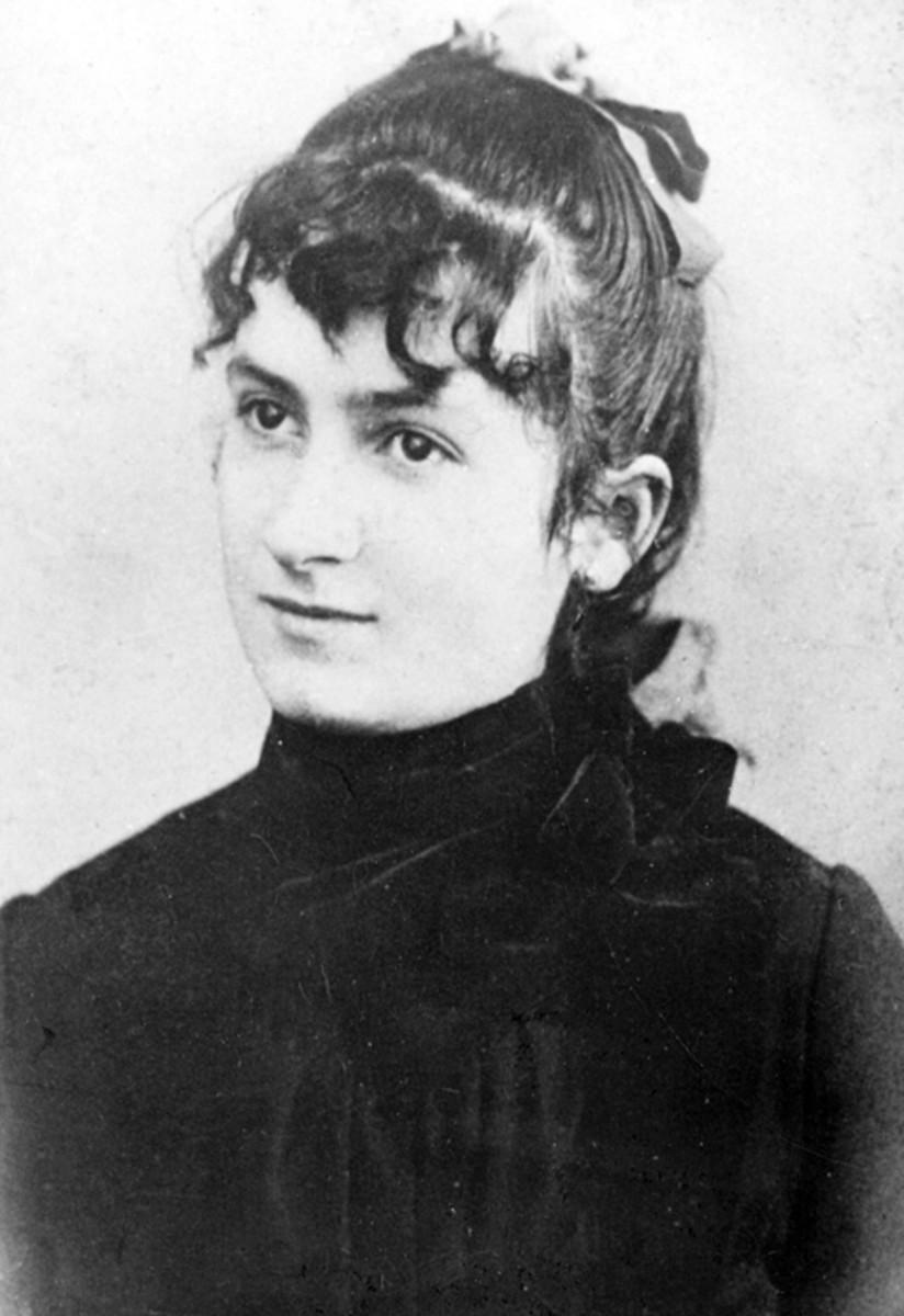 A young Maria Montessori