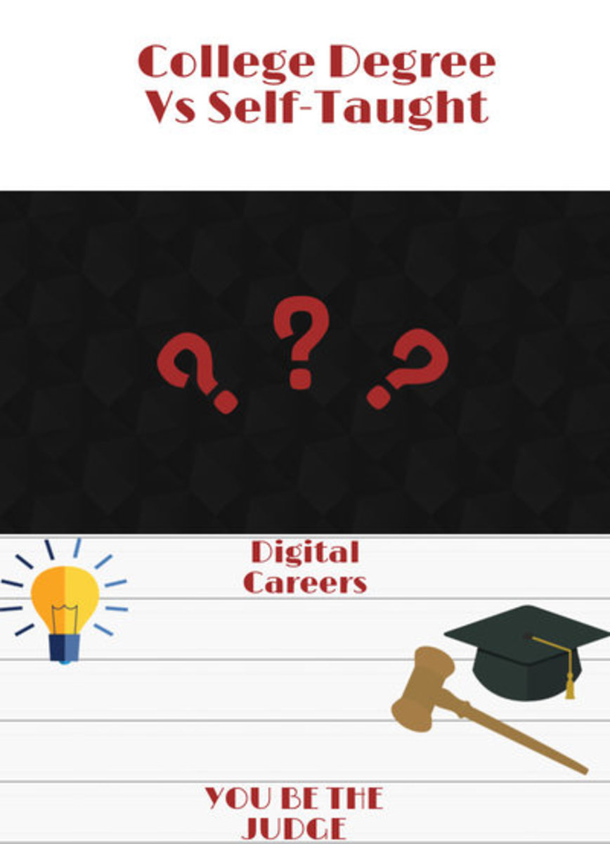 College Degree Vs Self-Taught Can You Get an Online Job Without a College Degree?