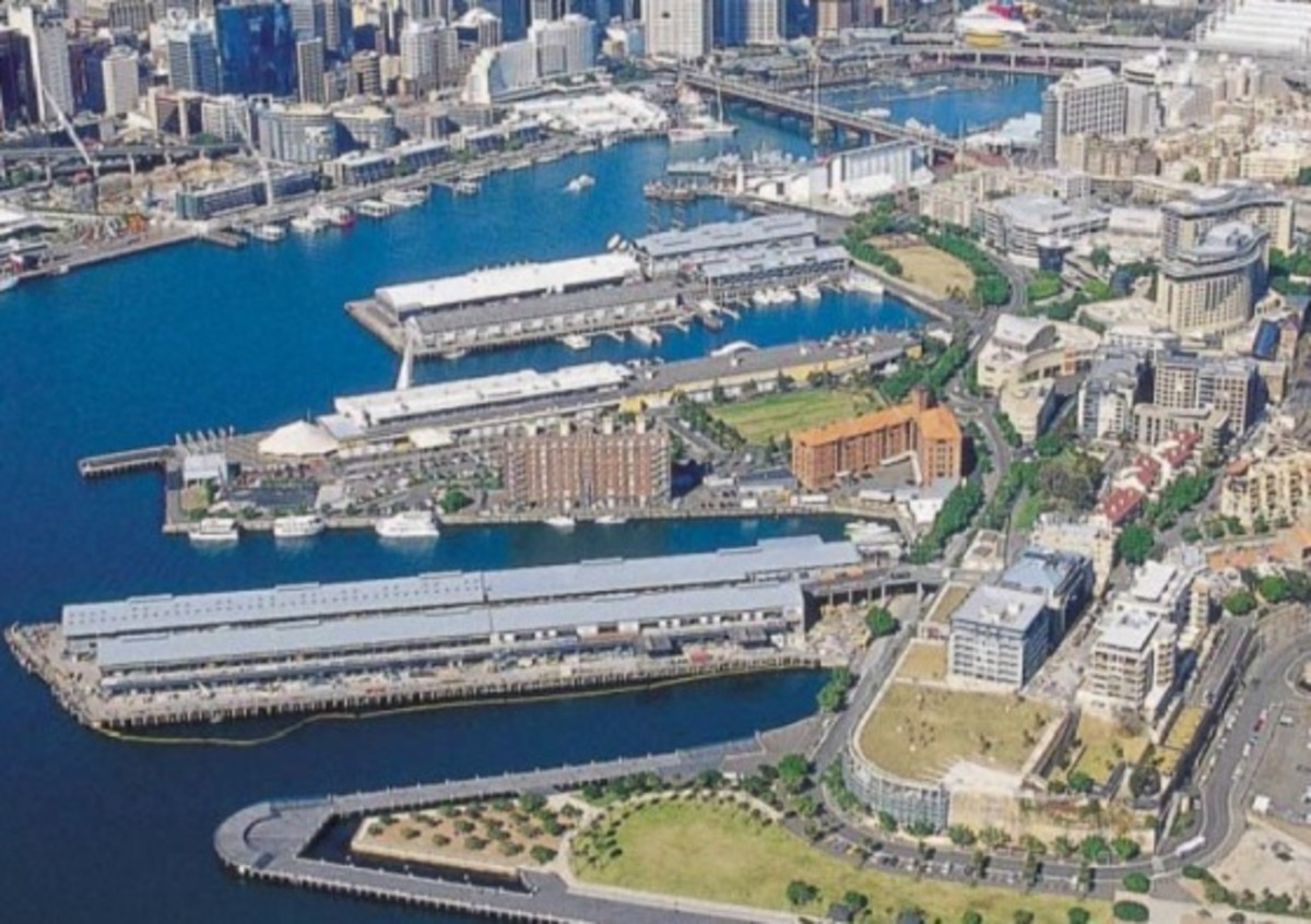 An image of the urbanisation in Pyrmont - Ultimo.